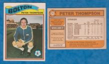 Bolton Wanderers Peter Thompson England 18